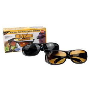 Комплект антибликовых очков для водителей HD Vision