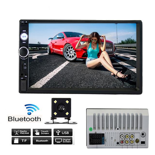 Автомагнитола 2 din сенсорная, Bluetooth