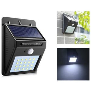 Светодиодный настенный светильник с датчиком движения