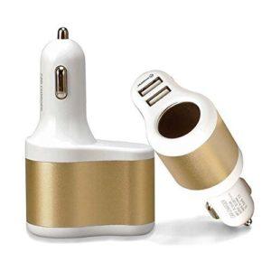 Автомобильное зарядное устройство + 2 USB