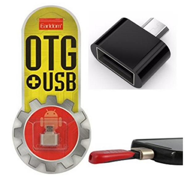 OTG переходник USB 2.0 на micro-USB