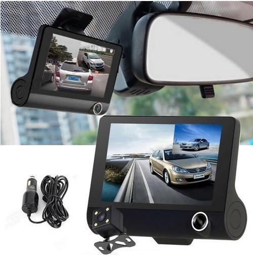 Відеореєстратор Car DVR 3.0 на 3 камери