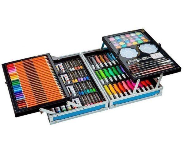 Художественный набор для творчества «Стильный Чемоданчик» 145 предметов