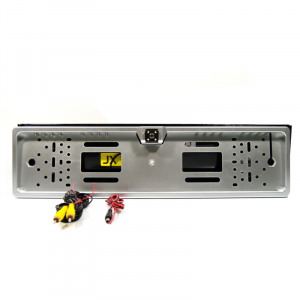 Камера заднего вида в рамке автомобильного номера с функцией парковки