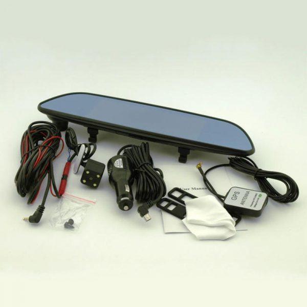 Видеорегистратор-зеркало с GPS навигатором