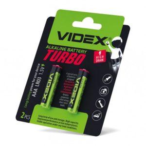 Батарейка алкалиновая тип AAA Turbo (LR03)1.5V