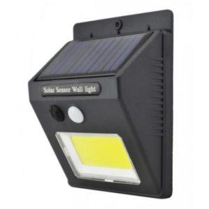 Автономный светильник на солнечных батареях с датчиком движения