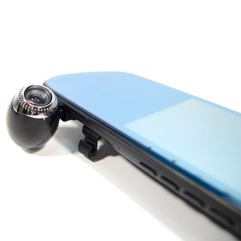 Видеорегистратор-зеркало Mirror DVR 3.0 на 3 камеры с сенсорным экраном