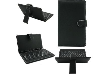 Чехол универсальный с клавиатурой для планшета