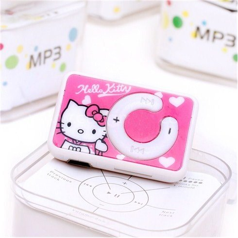 Набор Плеер Mp3 Hello Kitty + Повербанк Xiaomi Mi 10400 mAh