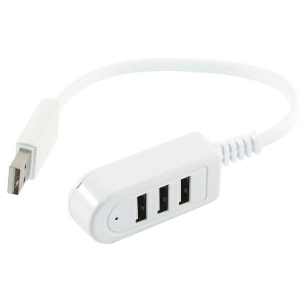 USB хаб, hub 3 порта разветвитель-удлиннитель юсб