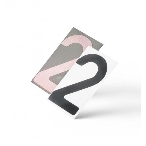 Нанопленка цифра 2 на автономера