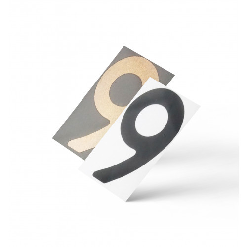 Нанопленка цифра 9 на автономера