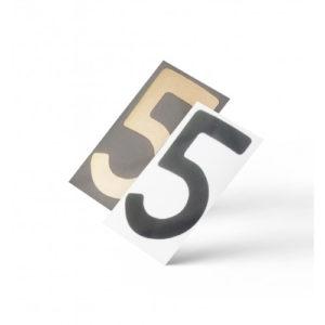 Нанопленка цифра 5 на автономера