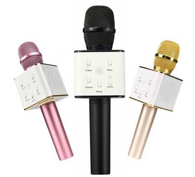 Караоке микрофон с динамиками Mypower HiFi + чехол