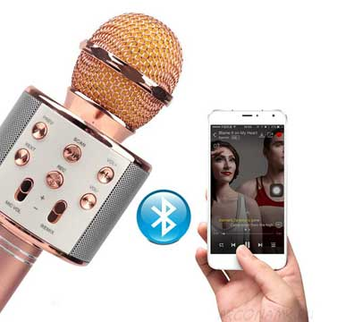Караоке микрофон с динамиками Mypower HiFi