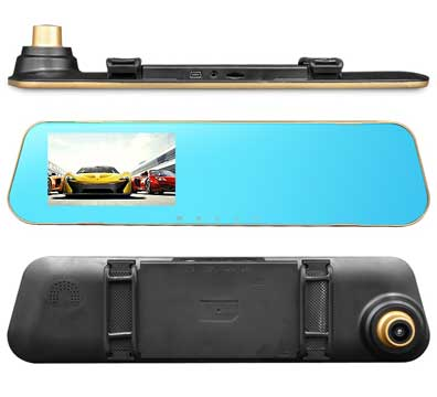 Видеорегистратор-зеркало Mirror DVR 2.0 Full HD +камера заднего вида