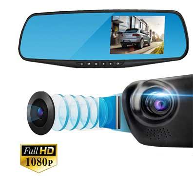 Видеорегистратор-зеркало Mypower DVR Full HD Night Vision (2 камеры)