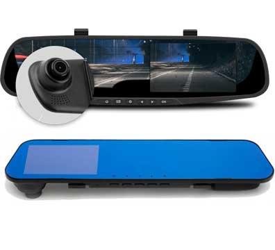 Видеорегистратор-зеркало Mypower DVR Full HD + компрессор в подарок