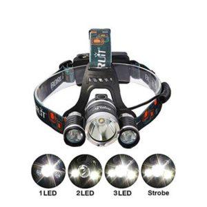 Налобный фонарь BL-RJ-3000-T6