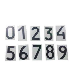 Нанопленка набор цифр на автономера