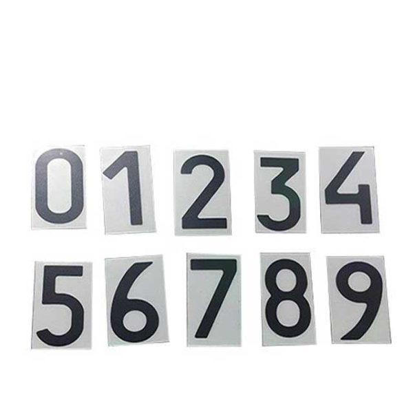 Нанопленка цифра 1 на автономера