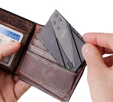 Набор кредиток от MyPower ( мультитул + нож-кредитка )
