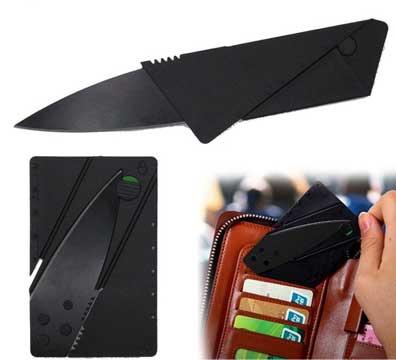 Нож-кредитная карта