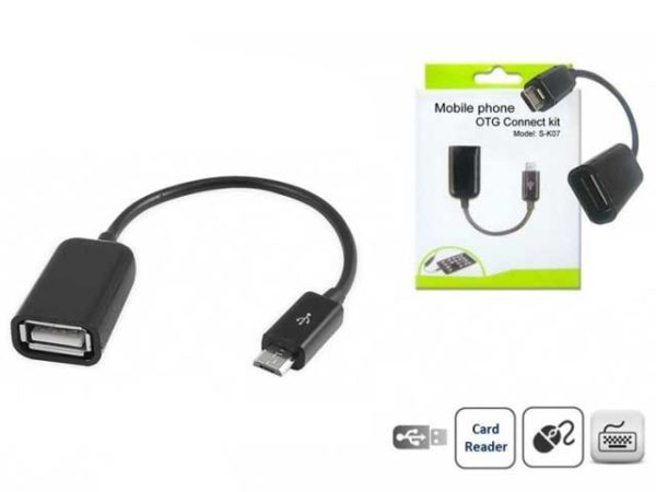 OTG Кабель USB — micro-USB