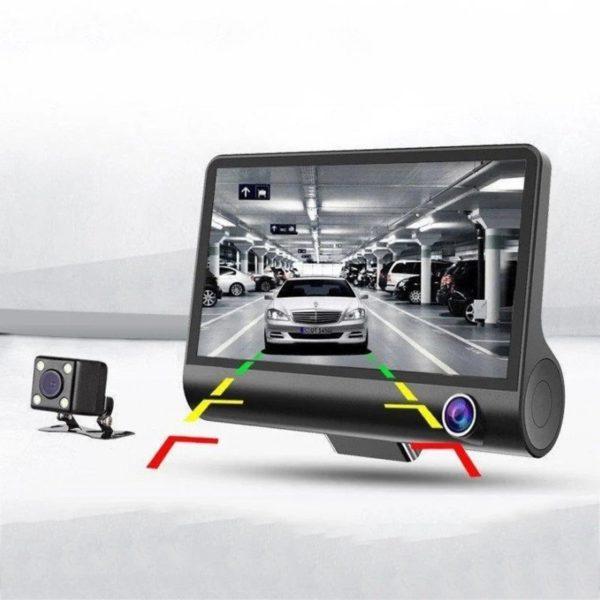 Видеорегистратор Car DVR 3.0 на 3 камеры