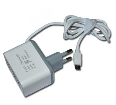 Сетевое зарядное устройство 5 USB (microUSB)